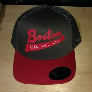 Limited North Face Boston Marathon hat flexfit